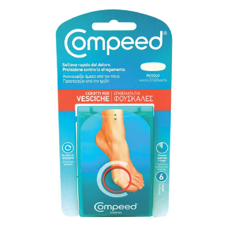 COMPEED VESCICHE SMALL 6PZ
